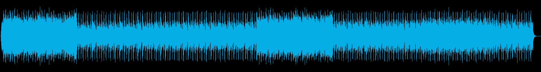 シンセによる大人っぽい洋楽AOR風の再生済みの波形