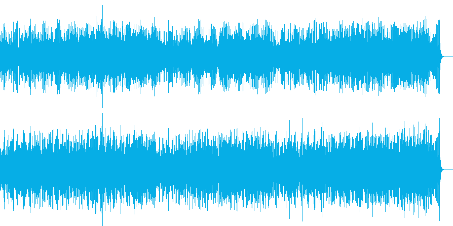 夜の密林の怪しいマイナードキュメントの再生済みの波形