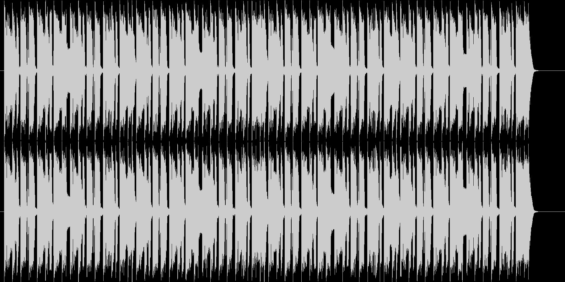 40秒ほどのジングルにも使えるBGMですの未再生の波形