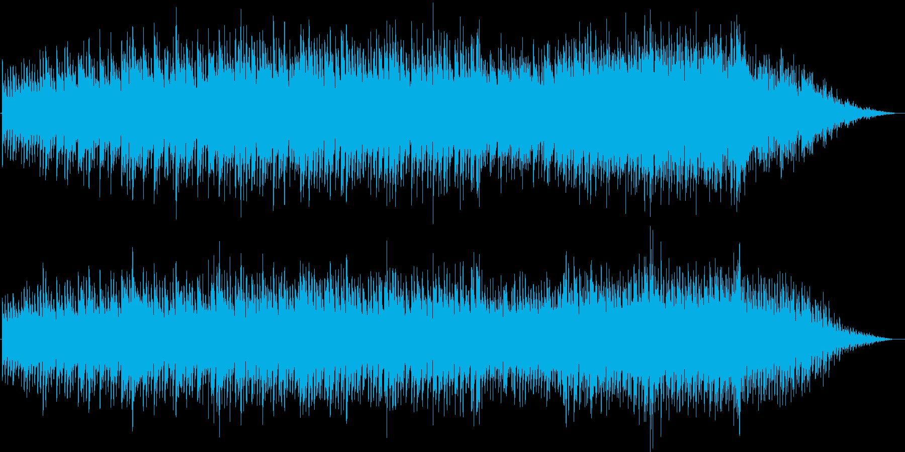 スチールドラムとピアノのエチュードの再生済みの波形