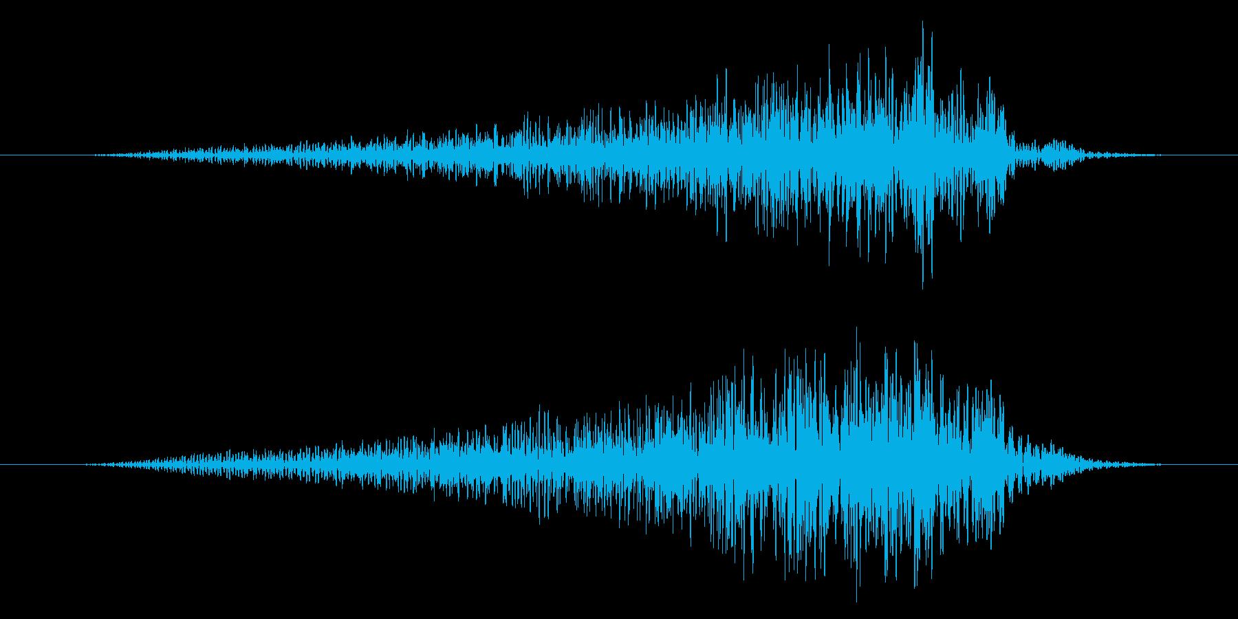 ホラー系/場面転換/気配の再生済みの波形