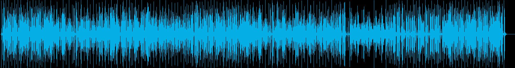のんびりとしたリズムが心地よいジャズの再生済みの波形