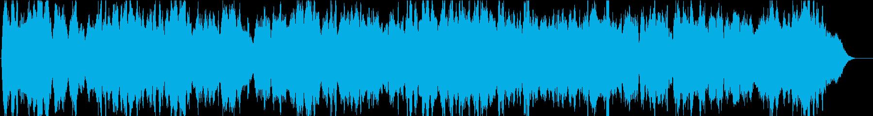 弦楽四重奏の切ないバラードの再生済みの波形