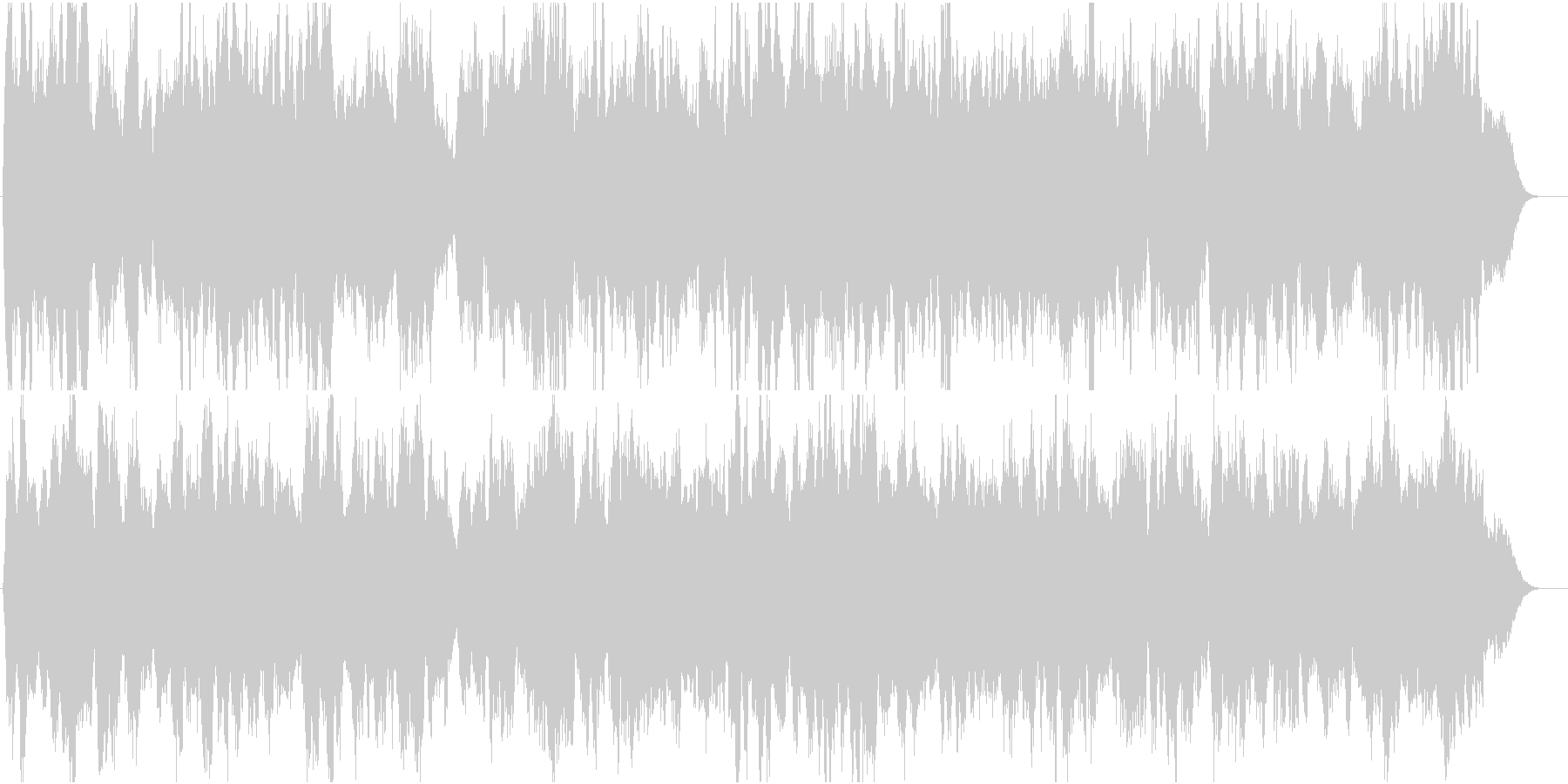 弦楽四重奏の切ないバラードの未再生の波形