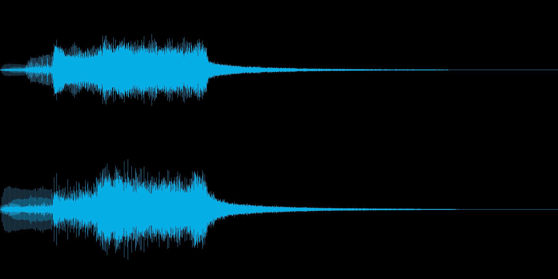 サスペンス~何かを発見したとき~の再生済みの波形