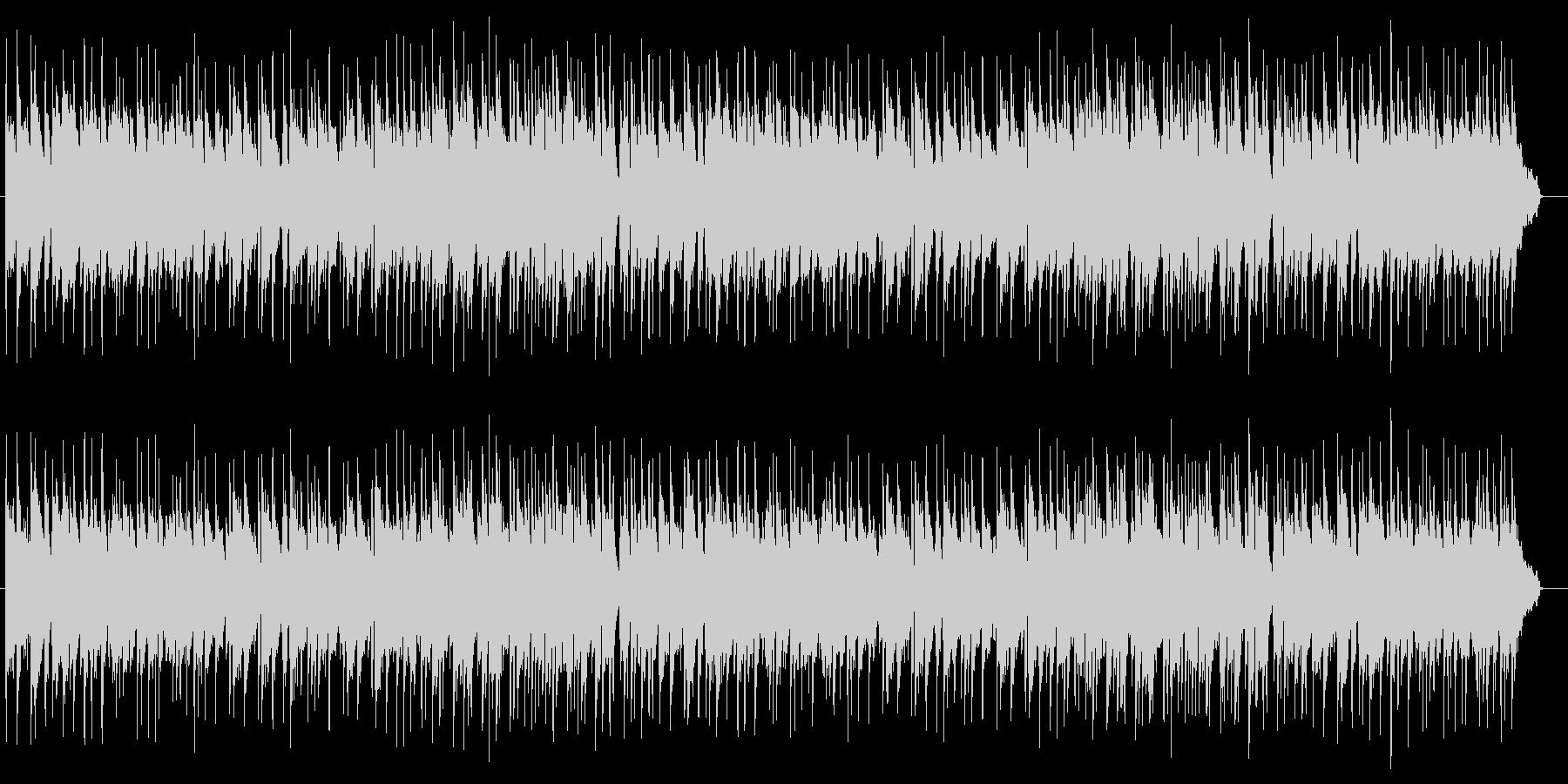 ゆったりとしたピアノバラードの未再生の波形