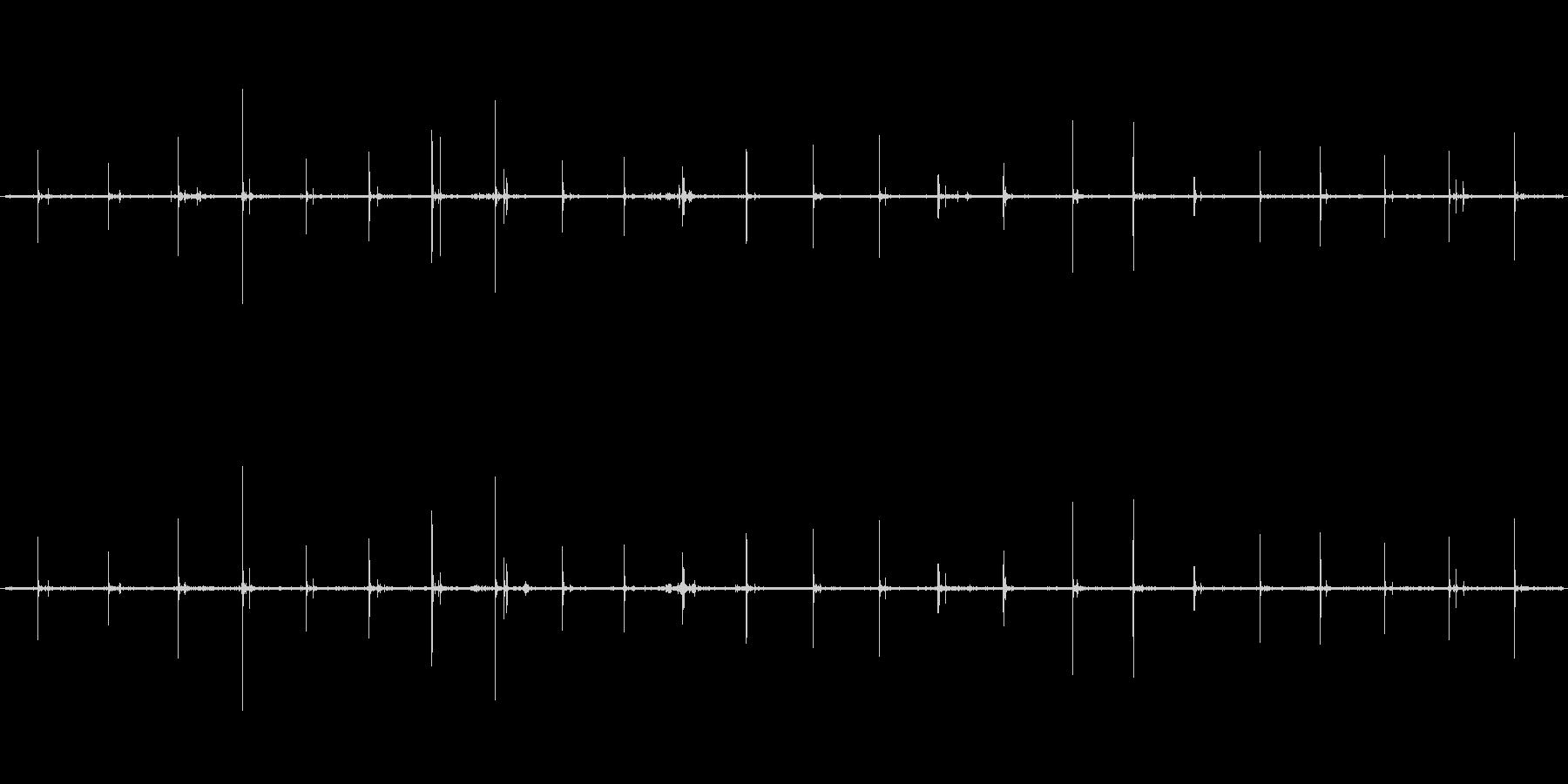 【生音】歩く・アスファルト - 1 「…の未再生の波形
