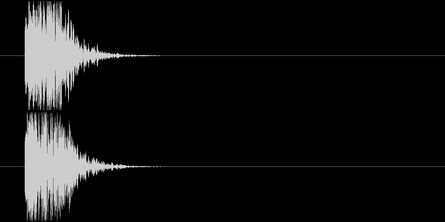 短め注目SEの未再生の波形