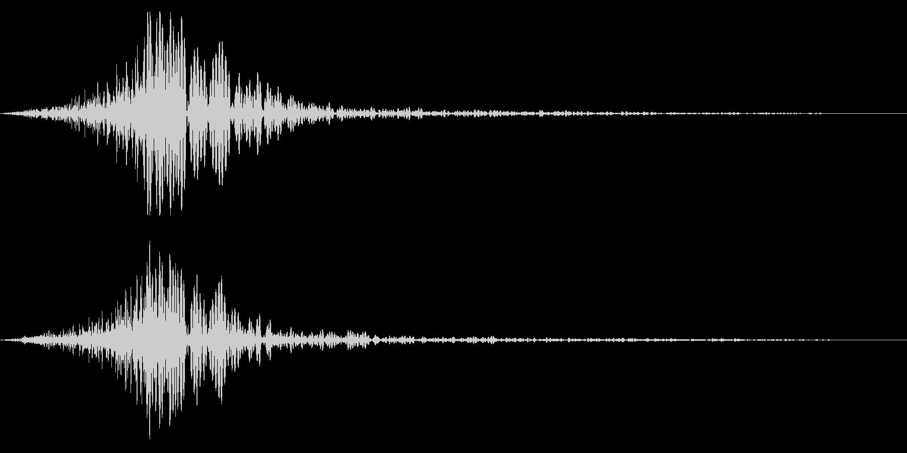 ホラー系アタック音93の未再生の波形