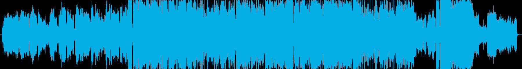 明るい雰囲気のオルゴール風バラードの再生済みの波形