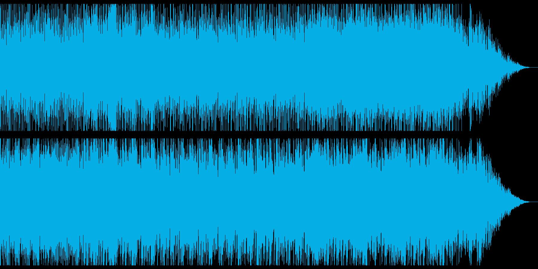 迷路に迷い込んだイメージの無国籍な曲の再生済みの波形