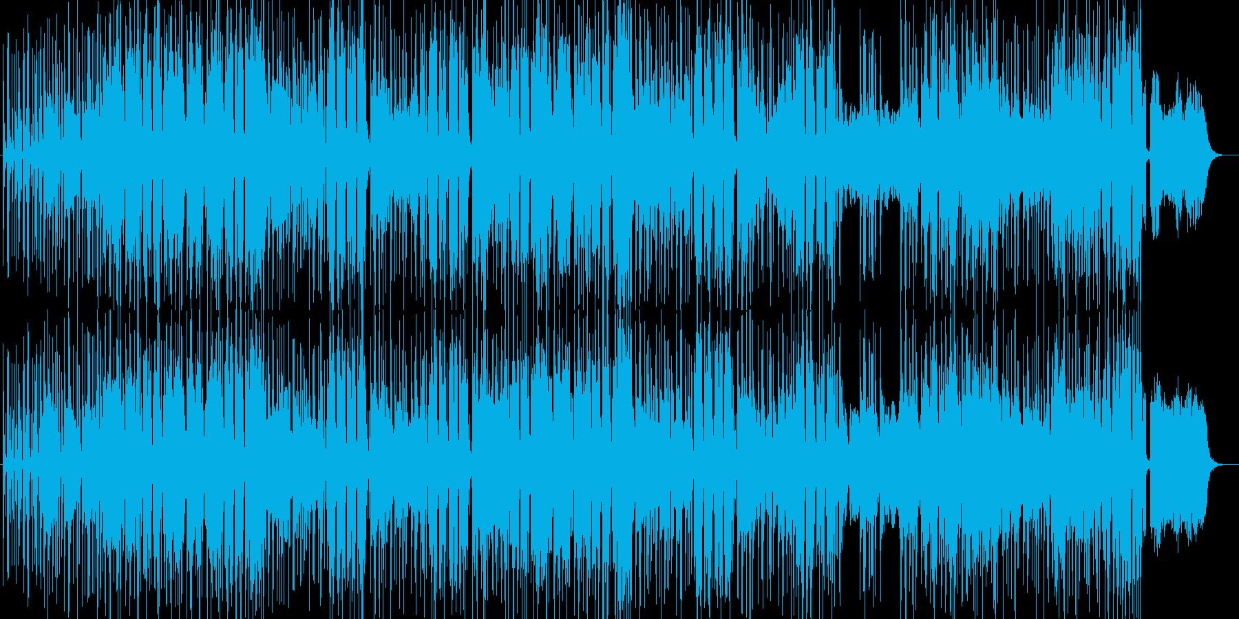 ハレルヤHip-Hopアレンジ ダミ声の再生済みの波形