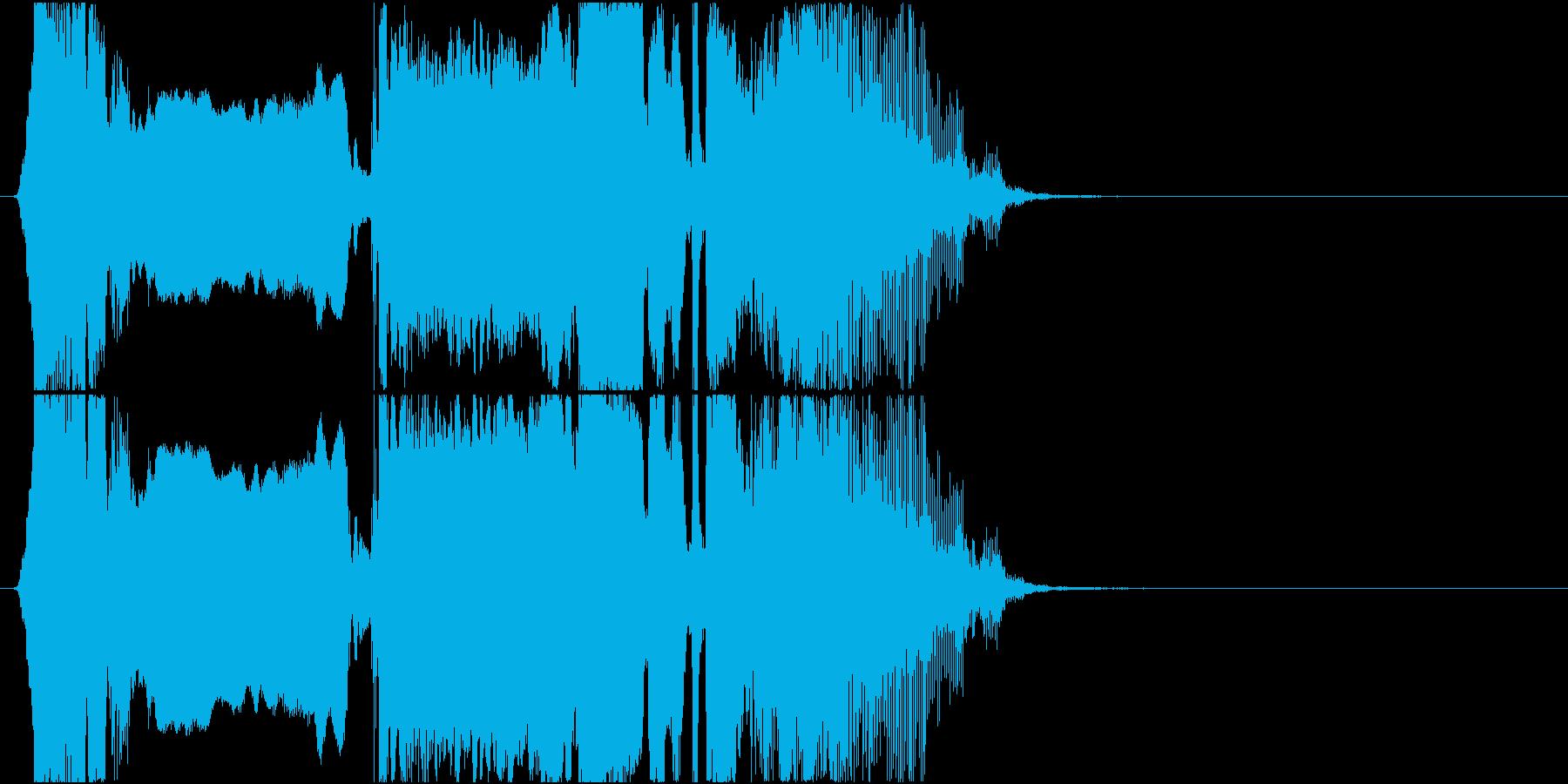 「スーパーショータイム!」ゲームアプリ用の再生済みの波形