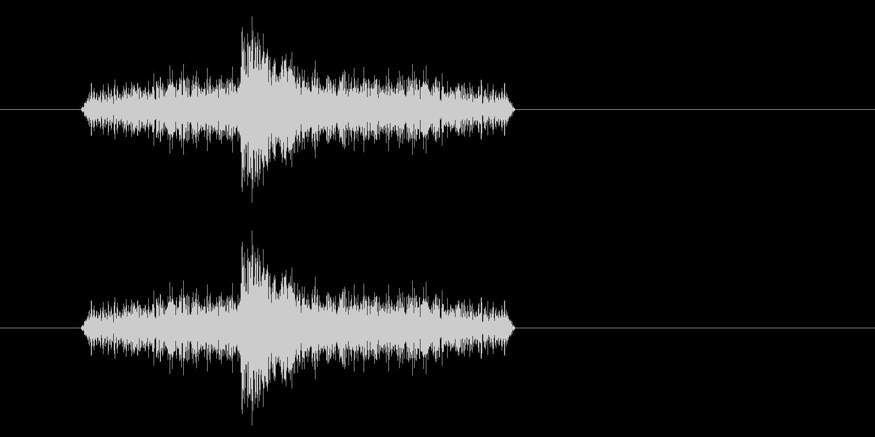 ジャン!リバースオケヒその1_音程低めの未再生の波形