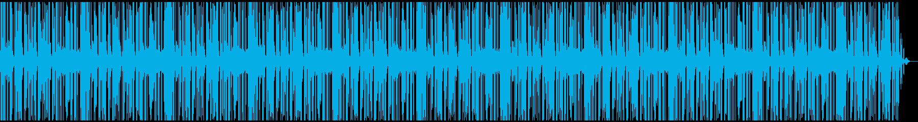 のんきで気の抜けたアコーディオンの再生済みの波形