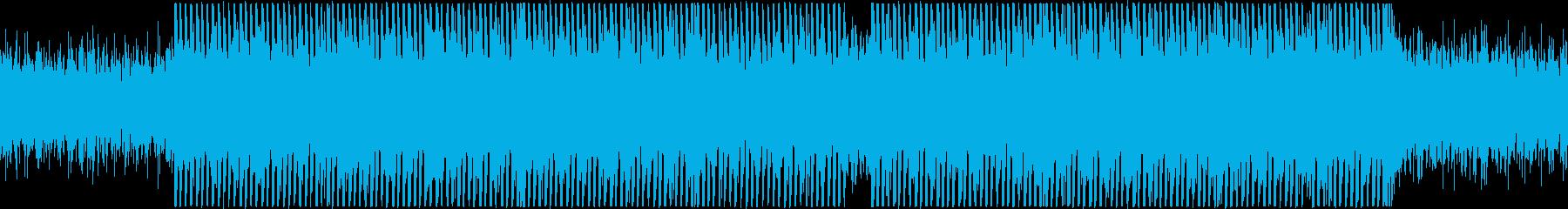 【ループ】ヴァイオリン&ギターの黄昏ハウの再生済みの波形
