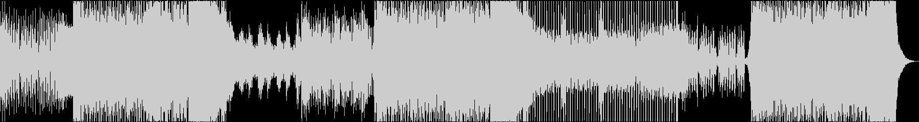 EDM 3分 動画 イメージ ピアノの未再生の波形