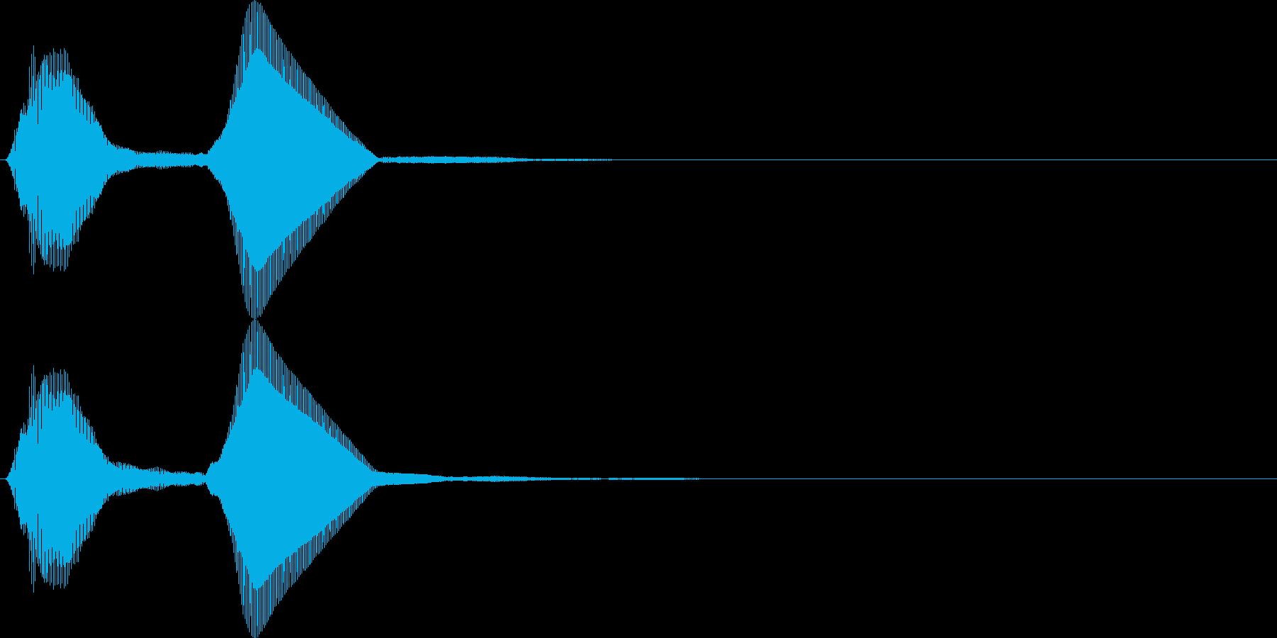 パフ。パフパフラッパC(高・単発)の再生済みの波形
