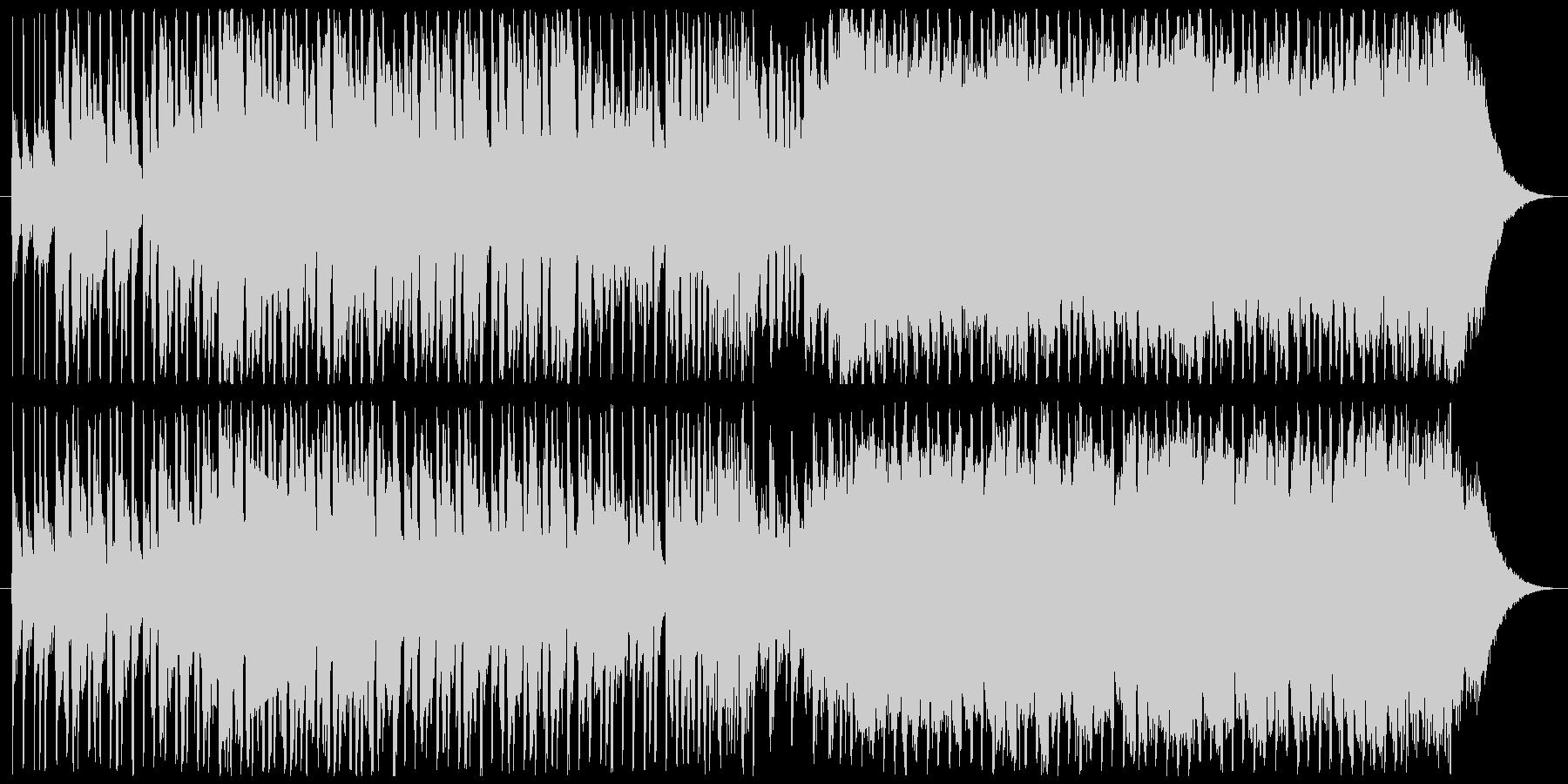 和楽器とEDMが融合したあげぽよな曲の未再生の波形