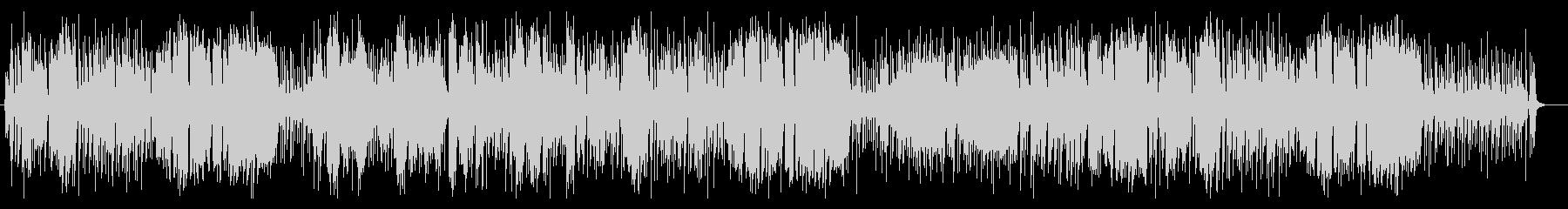 軽やかなバイオリンフルート系サウンドの未再生の波形