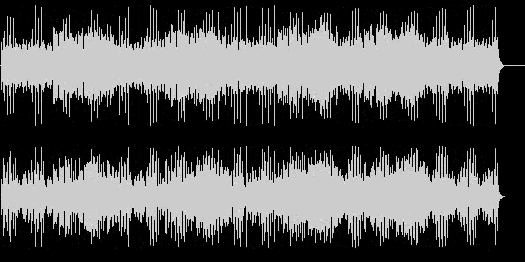まったりと和やかなポップサウンドの未再生の波形