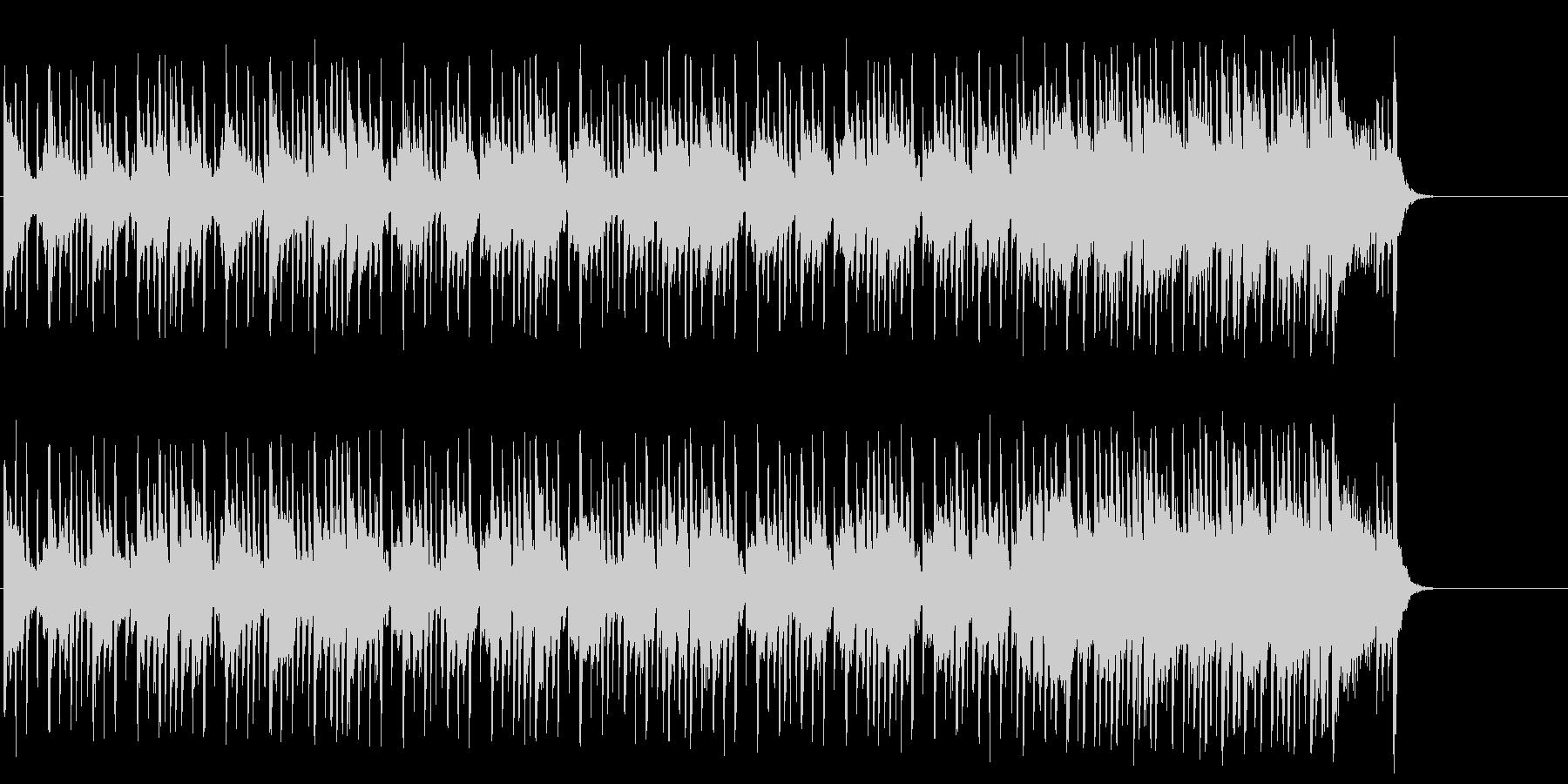 心も弾む爽やかなポップ(イントロ~A…)の未再生の波形