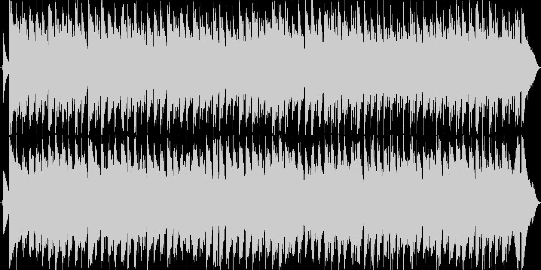 チェンバロとストリングスの協奏曲ですの未再生の波形
