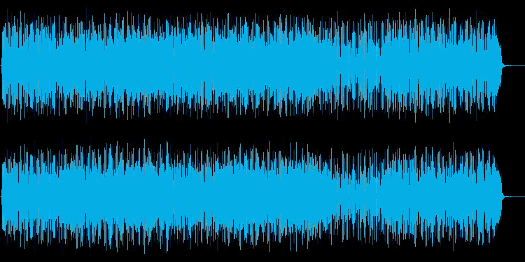 優しさと爽やかさのあるポップなBGMの再生済みの波形