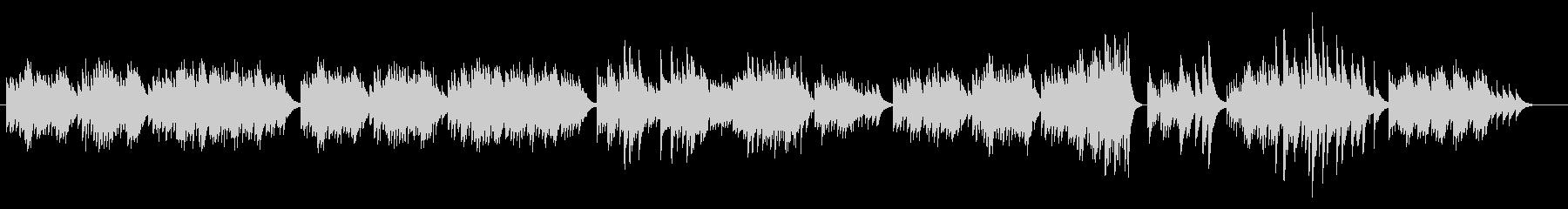 癒し系オルゴール(クラシック)の未再生の波形