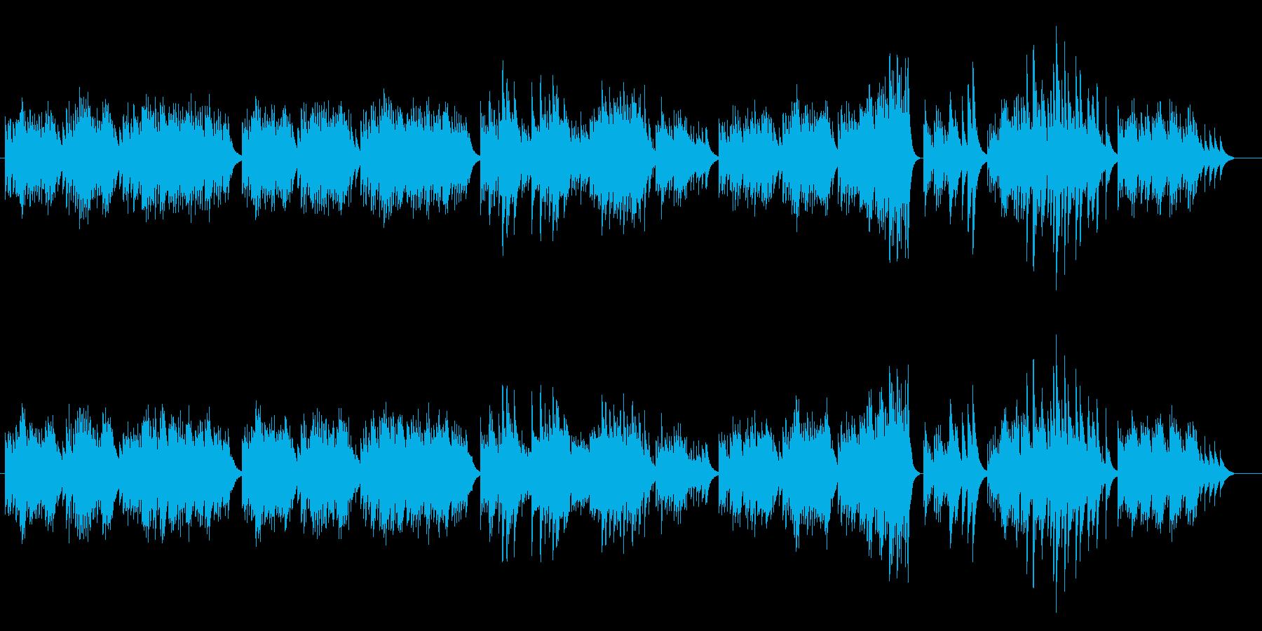 癒し系オルゴール(クラシック)の再生済みの波形