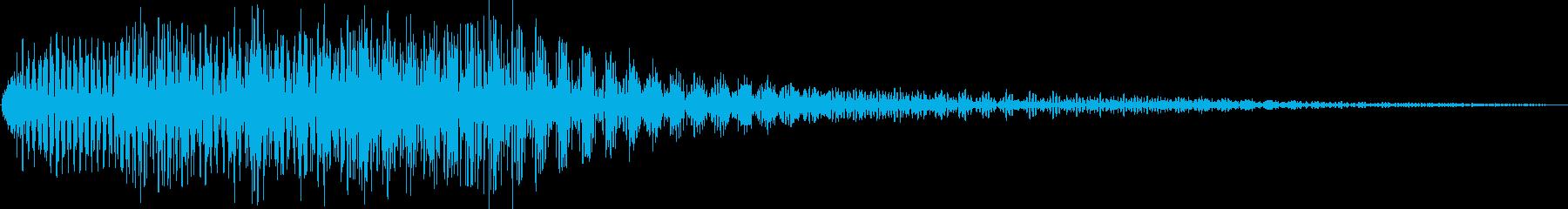 キロロン(アイテム獲得 チュートリアル)の再生済みの波形