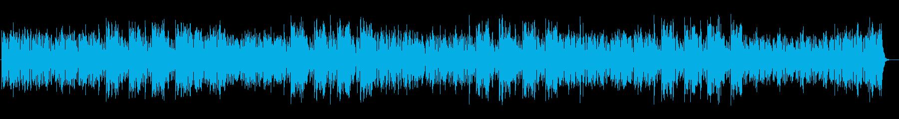 幻想的なピアノの音色が印象的な曲の再生済みの波形