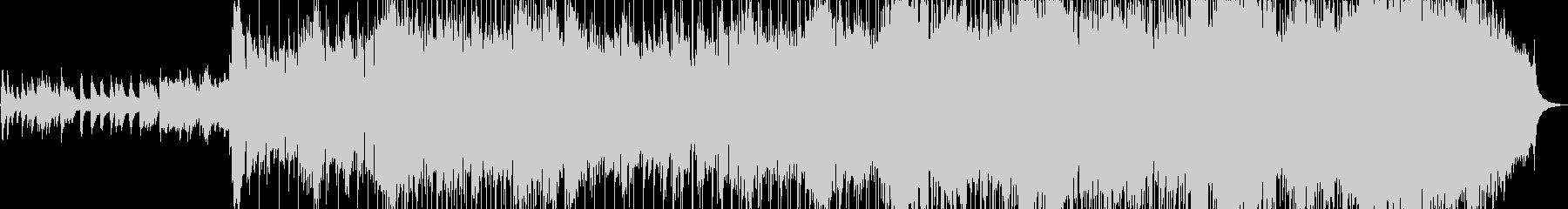 きらきらしたオーケストラ風のBGM2の未再生の波形