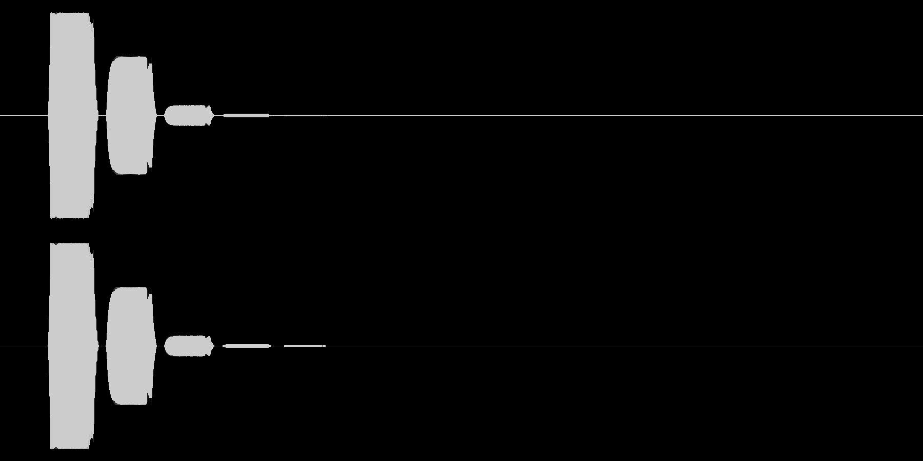 SNES 格闘06-13(選択)の未再生の波形