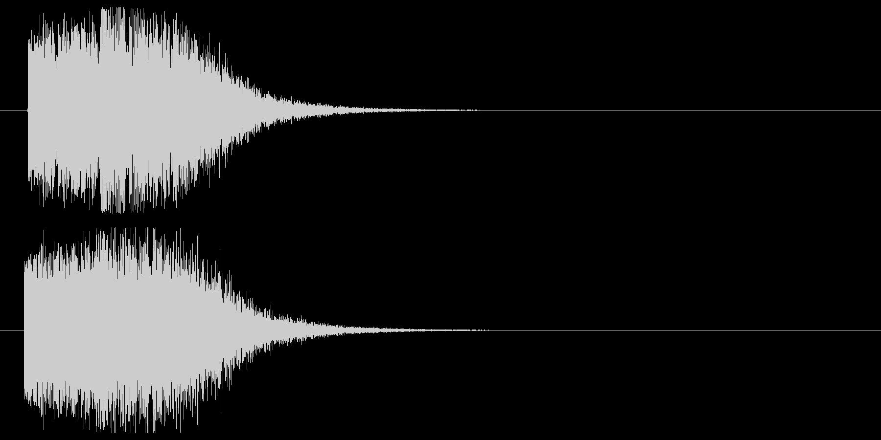 パワーアップ_回復の未再生の波形