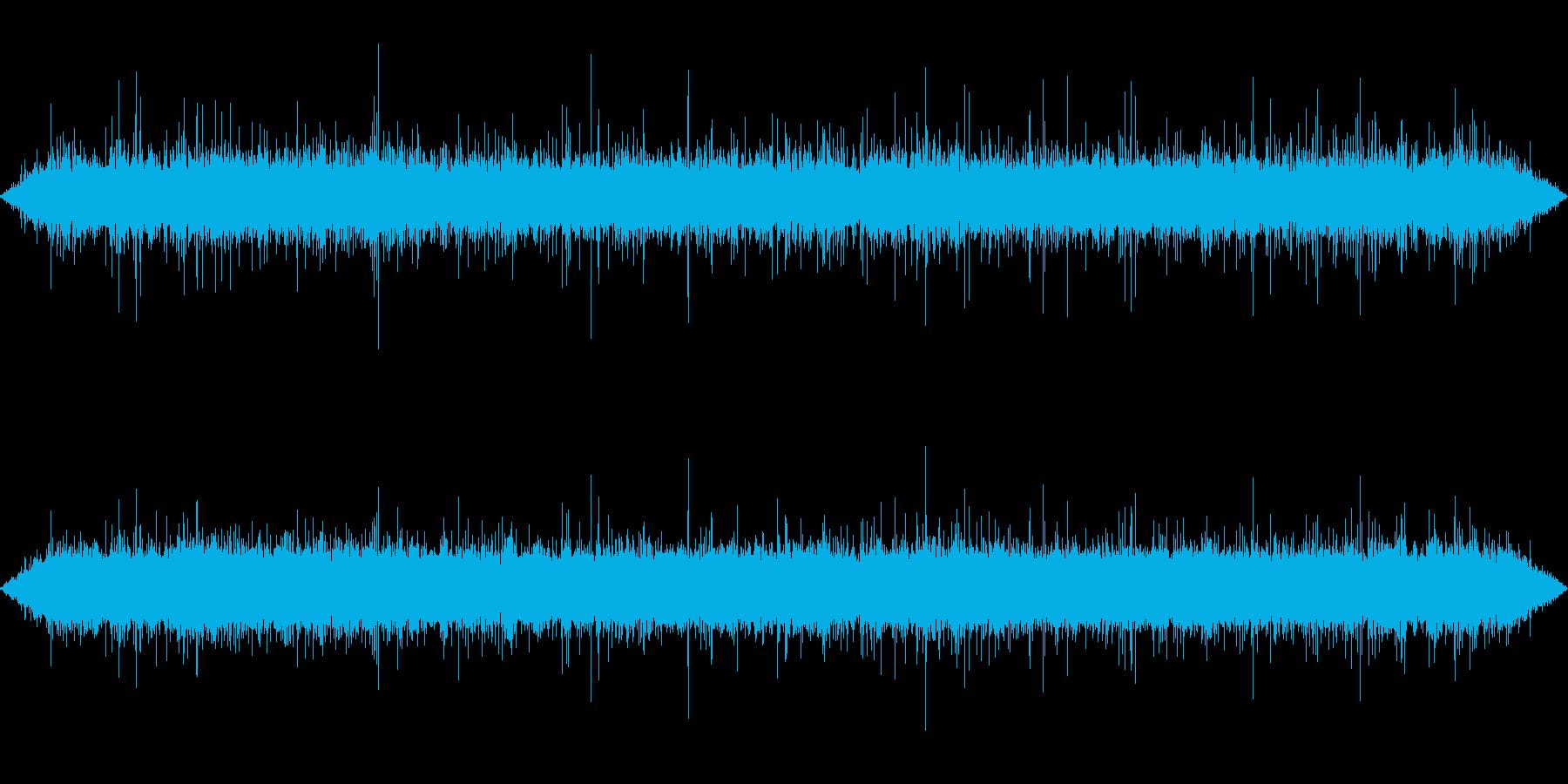 【自然音】川の流れる音01(軽井沢)の再生済みの波形