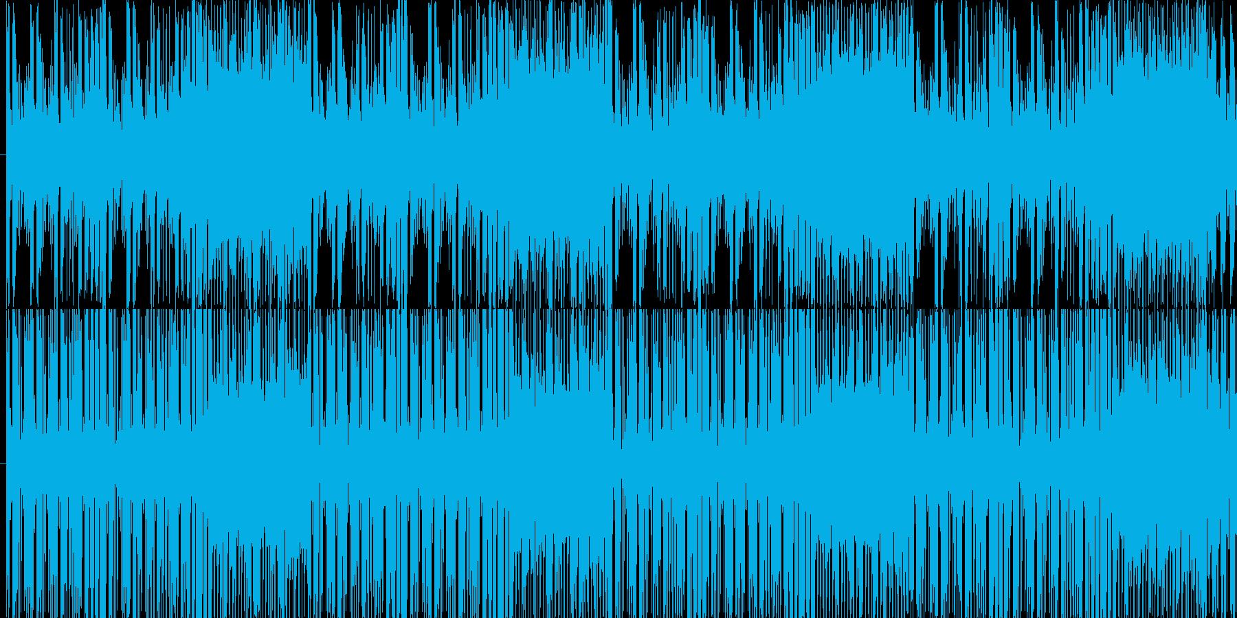 YMO的チャイニーズ調。レトロな雰囲気の再生済みの波形