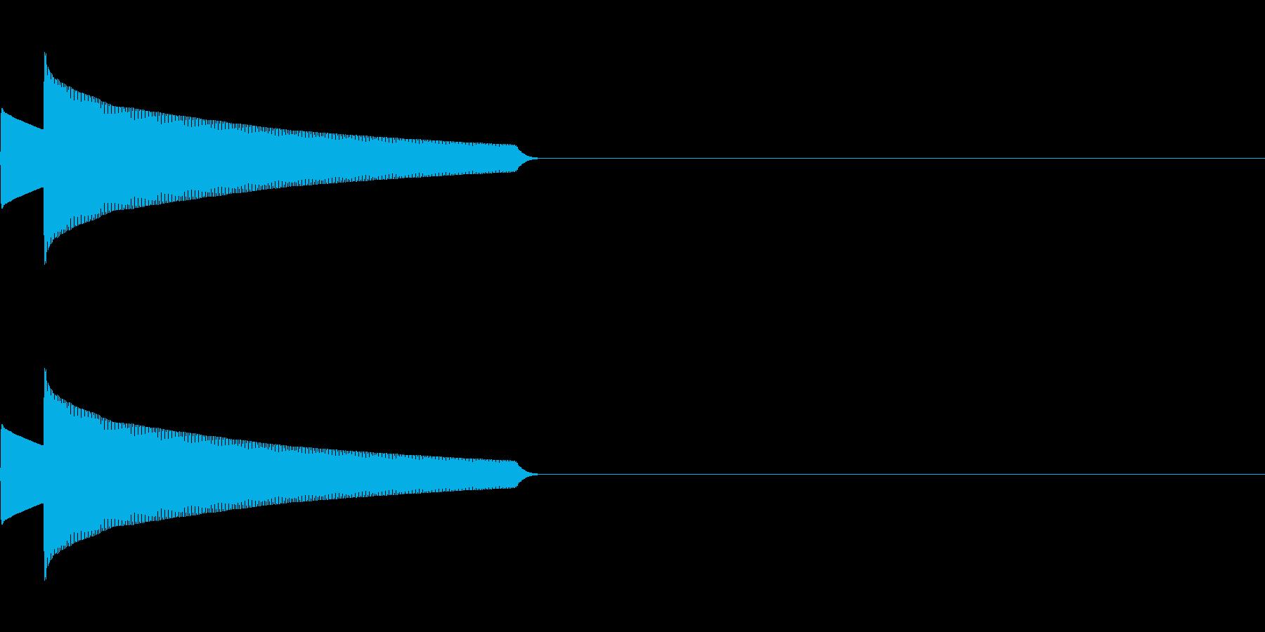 サウンドロゴ23_シンセの再生済みの波形