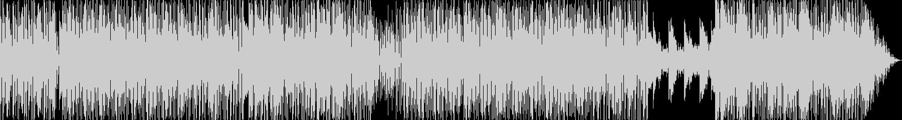 ラテン系の楽しいEDMの未再生の波形