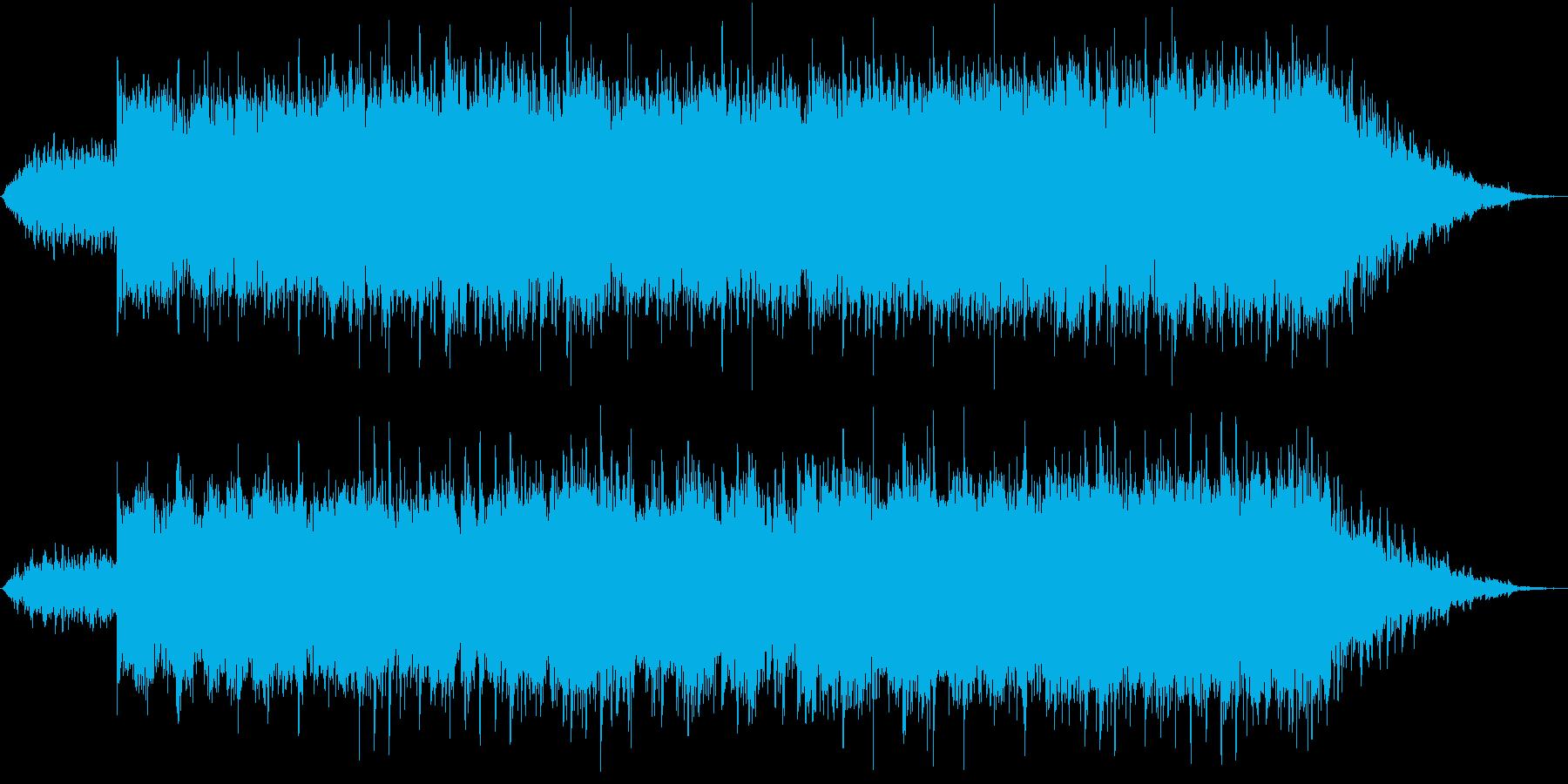 エンジェルダストをイメージした優しい旋律の再生済みの波形