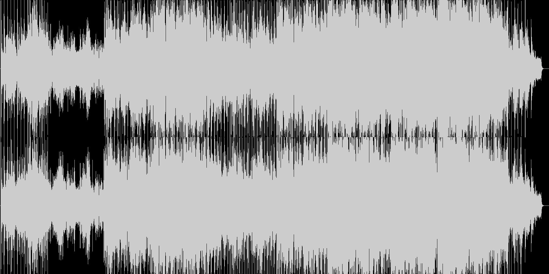 ゆったりとしたメロディのポップバラードの未再生の波形
