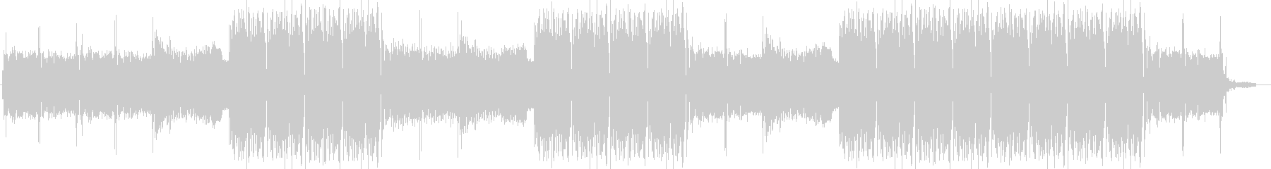EDMクラブ系ダンスミュージック-04の未再生の波形