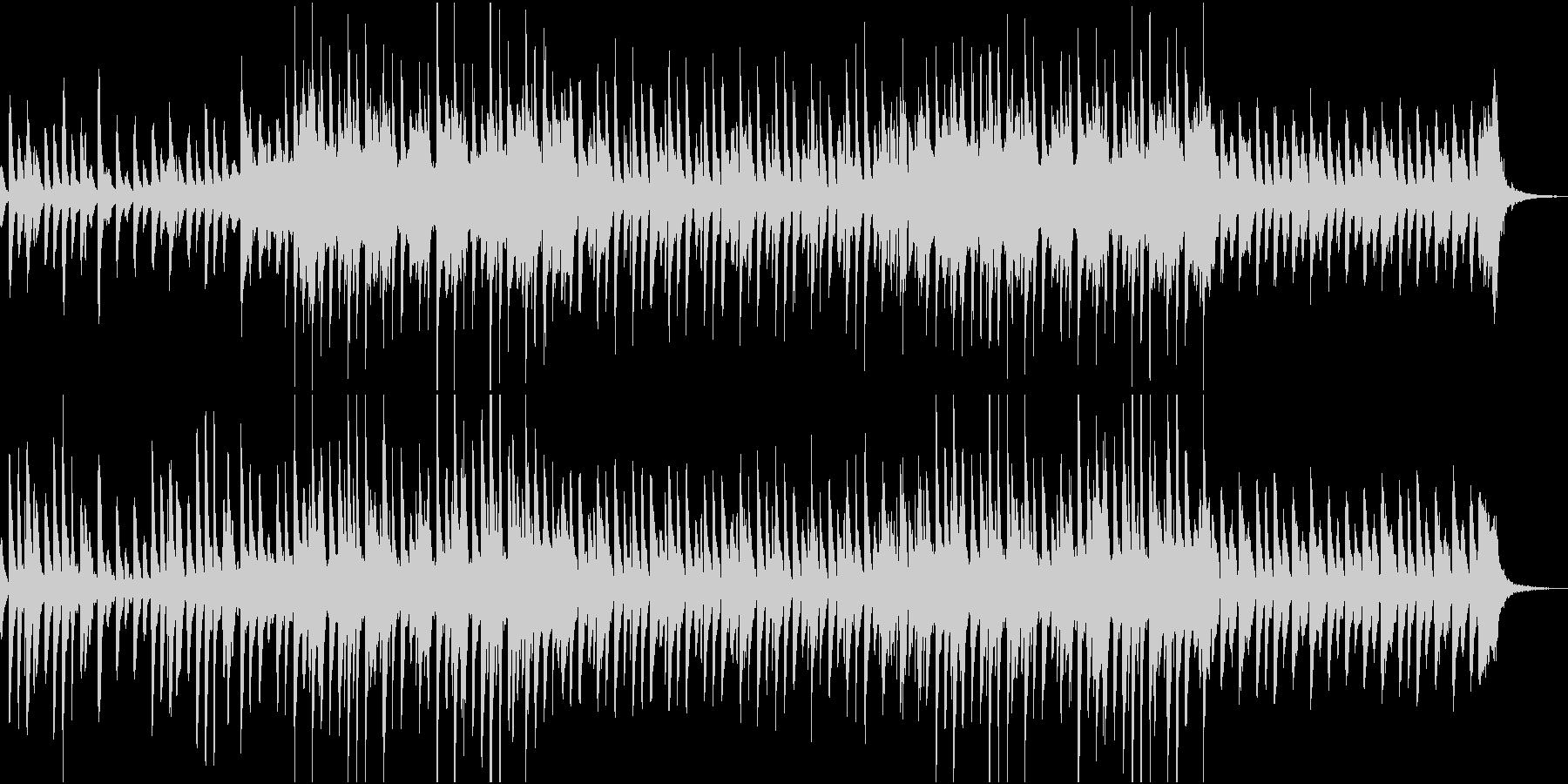 軽快でポップなピアノ、マリンバ CMの未再生の波形