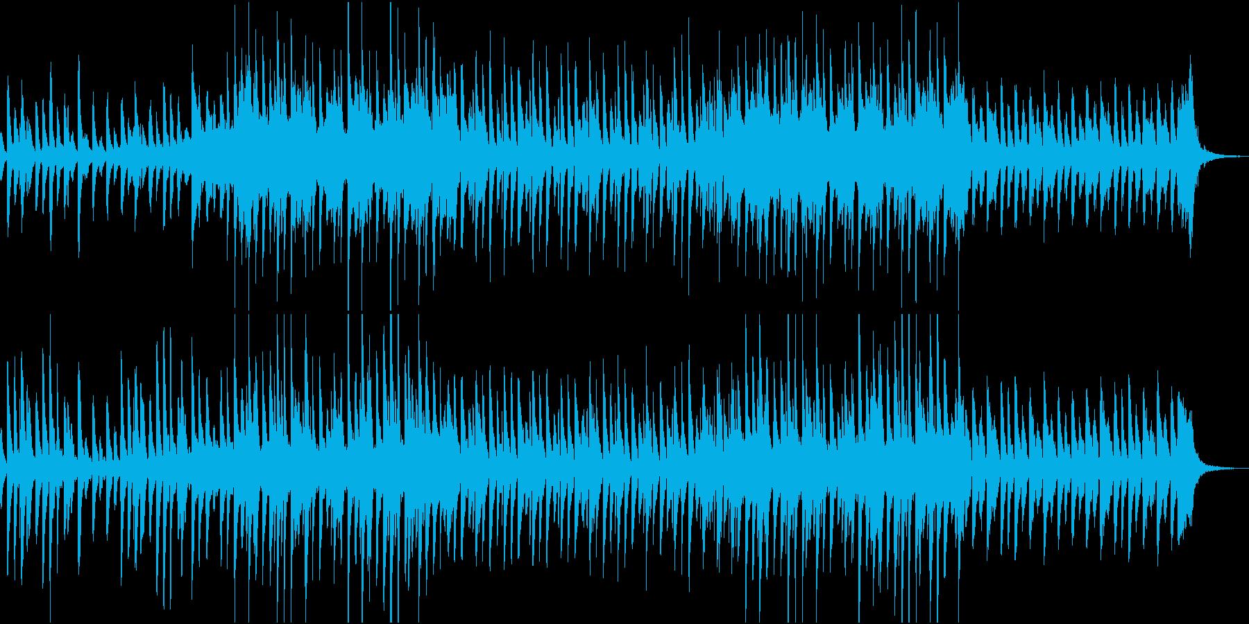 軽快でポップなピアノ、マリンバ CMの再生済みの波形