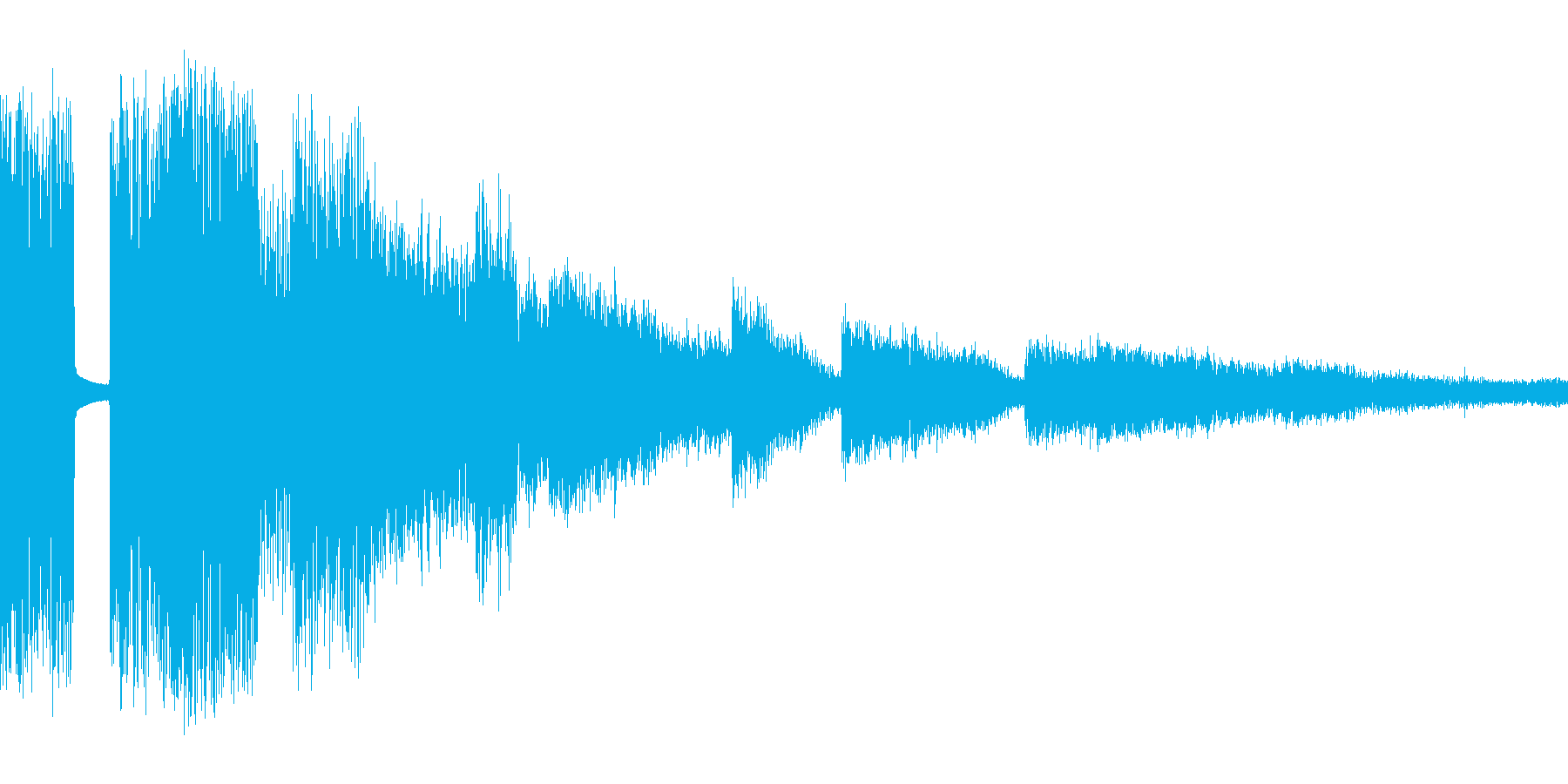 RPG:氷魔法音「チャキリンッ」の再生済みの波形