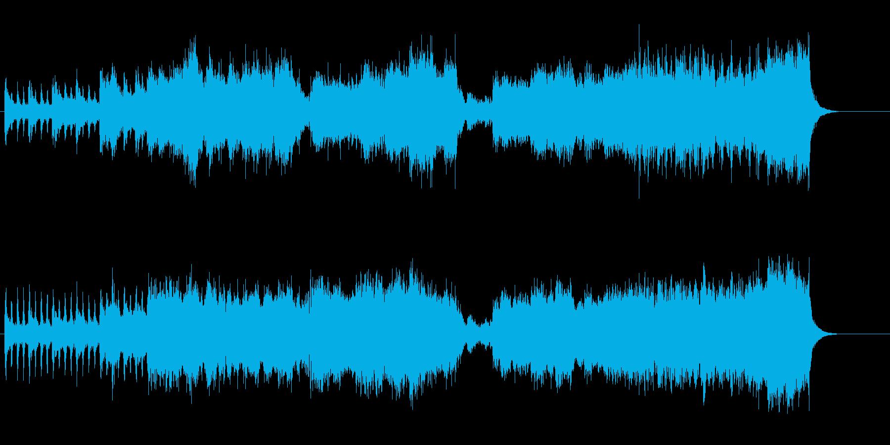 勧善懲悪スクリーン・ミュージック風の再生済みの波形