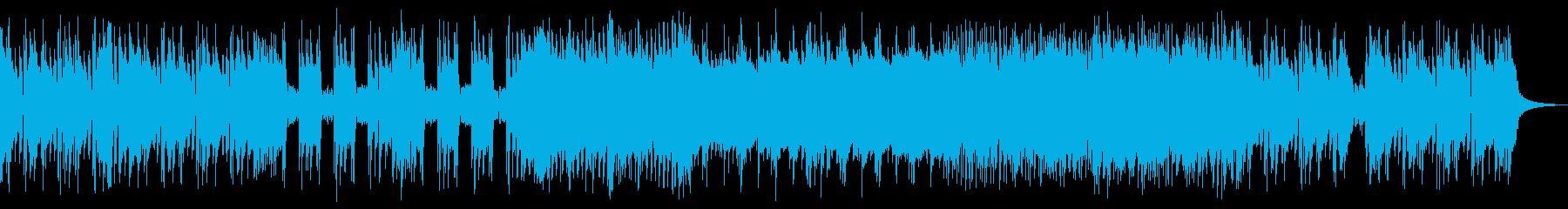 戦闘や敵の登場シーンなどで使えるBGMの再生済みの波形