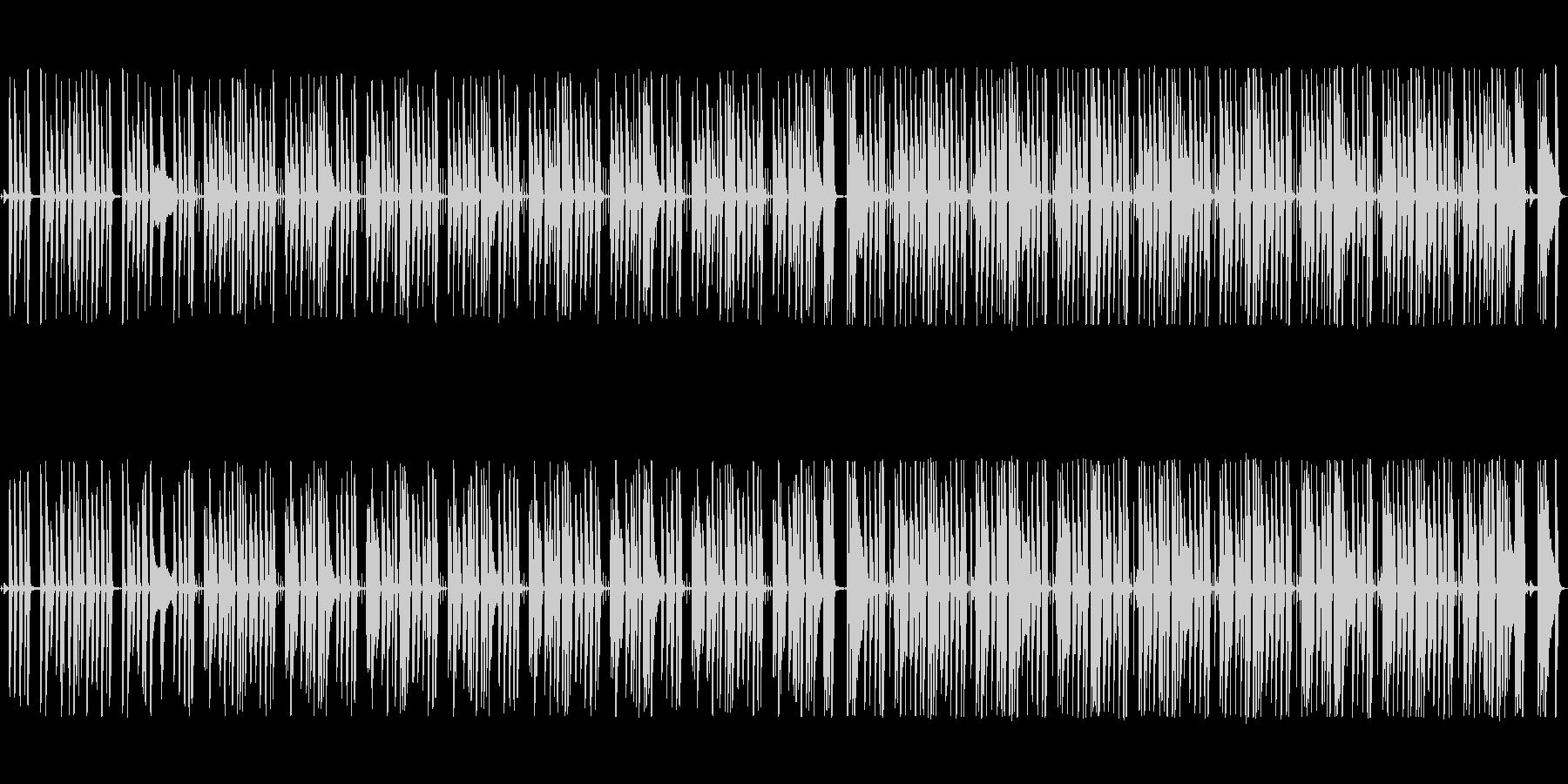 まったり・ぐだぐだな日常系ピアノ曲の未再生の波形