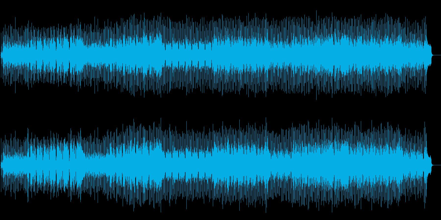 南国気分のスロー・レゲェ系ポップの再生済みの波形