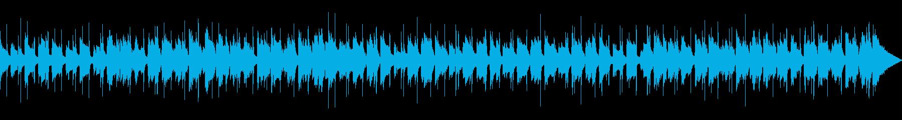 ほのぼの可愛い口笛ギター/尺違いありの再生済みの波形